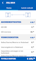 Screenshot of MijnTele2 App