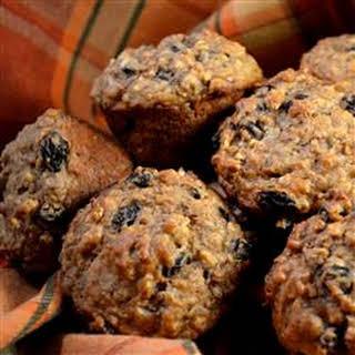 Caramelized Oatmeal Raisin Muffins.