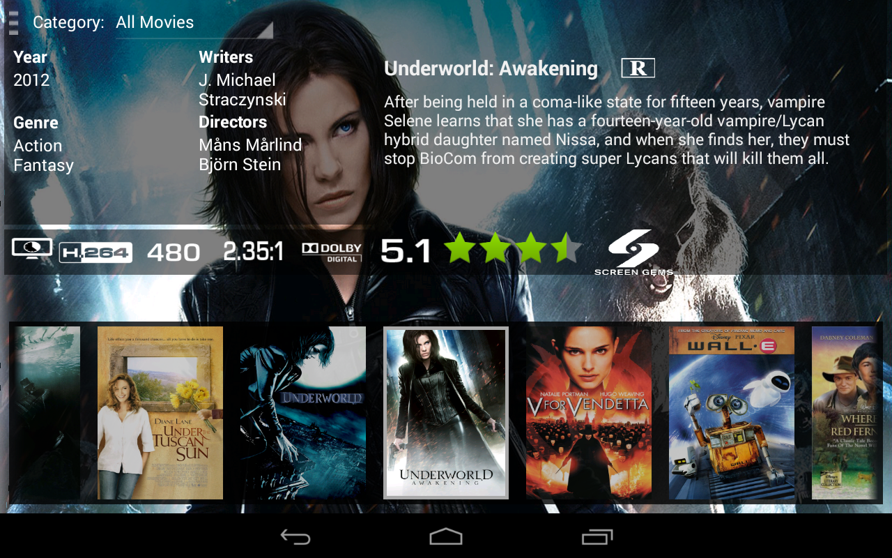 Serenity for Android - screenshot