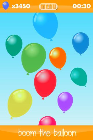 Balloon Boom for kids - screenshot