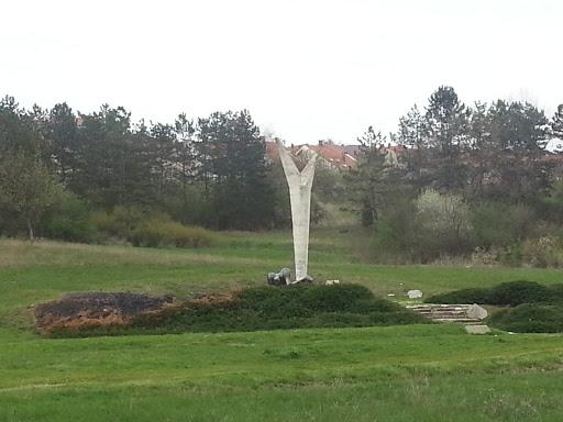 Spomenik Otpora I Slobode Portal In Kragujevac Central Serbia
