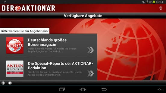 DER AKTIONÄR - Börsenmagazin- screenshot thumbnail