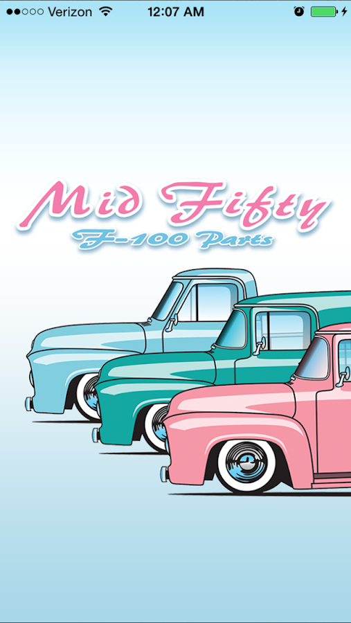 Mid Fifty Ford F-100 Parts- screenshot