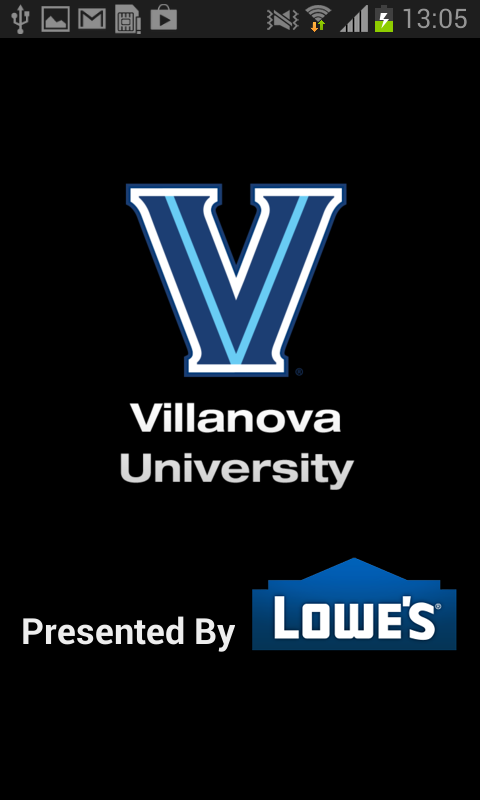 Villanova Athletics - screenshot