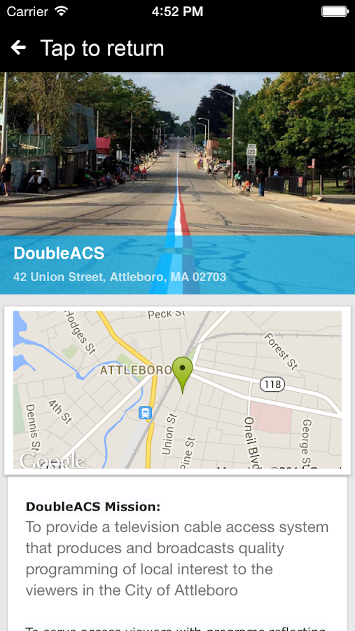DoubleACS Mobile- screenshot