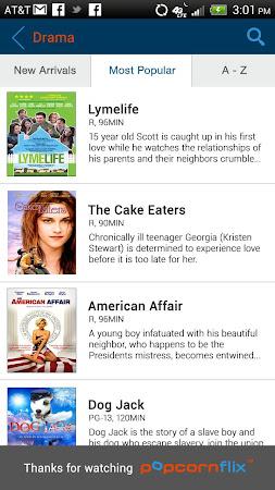 Popcornflix™-Great Movies Free 2.7 screenshot 206256