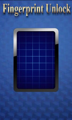 Fingerprint Unlock Screen
