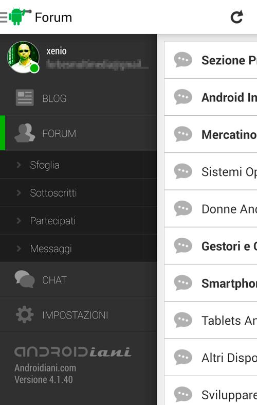 Androidiani (Beta) - screenshot