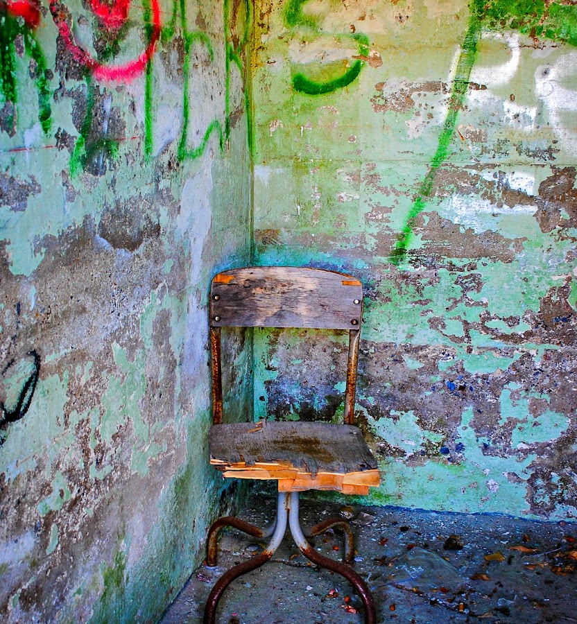 Old Root Cellar  with cool Colors! by Dawn Paul - Artistic Objects Other Objects (  )