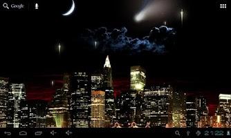 Screenshot of Armageddon Live Wallpaper 3D