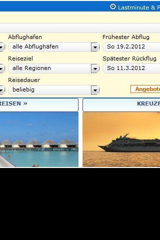 ReiseAgentur abinsreiseland.de - screenshot