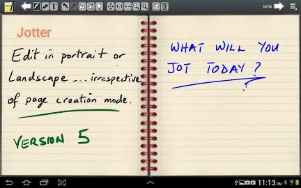 Jotter (For Galaxy Note) Screenshot 1