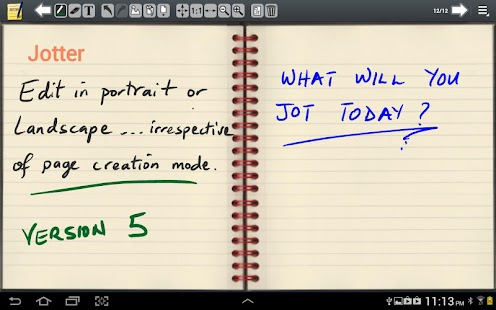 Jotter (For Galaxy Note) - screenshot thumbnail
