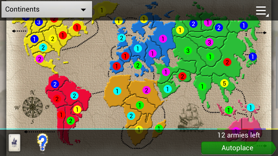 Domination (strategy and risk) - screenshot