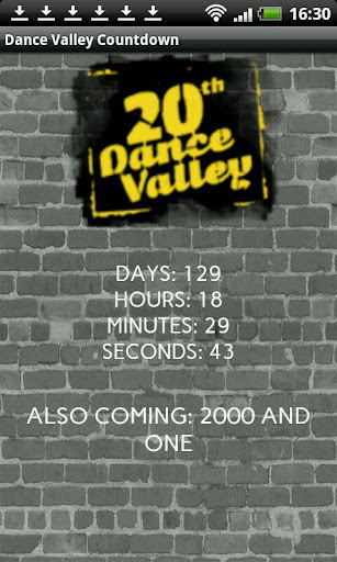 Dance Valley 2014 Countdown
