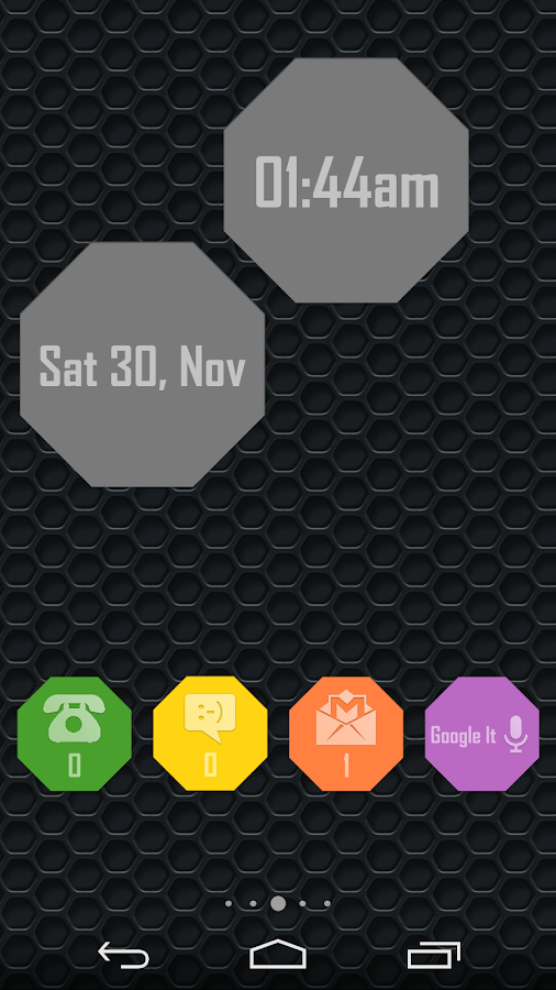 Octy Widget - screenshot