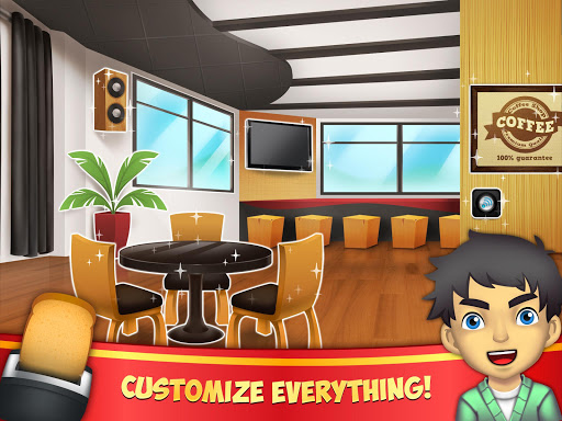 My Coffee Shop - Coffeehouse Management Game 1.0.25 screenshots 7