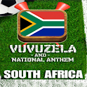 SOUTH AFRICA VUVUZELA / ANTHEM logo