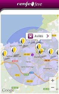 Horarios RENFE FEVE - screenshot thumbnail