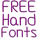 Fonts Hand for FlipFont® Free icon