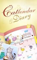 Screenshot of Catlendar & Diary HD