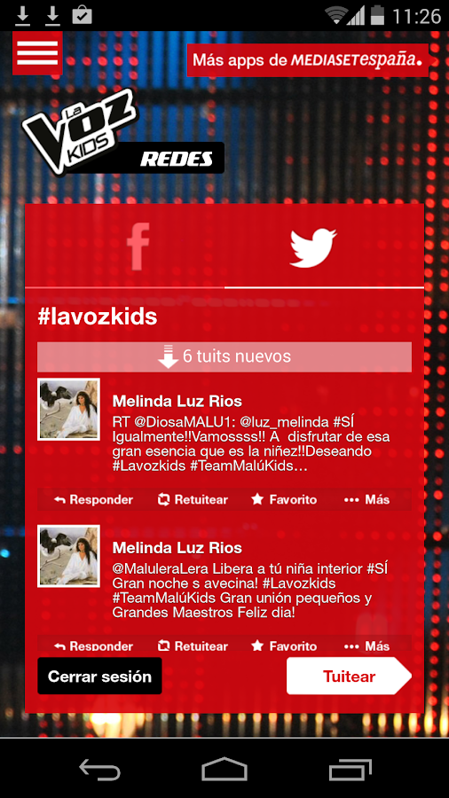 La Voz Kids - screenshot