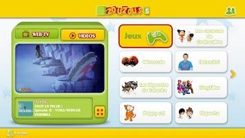 Screenshot of Zouzous pour Google TV