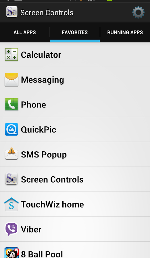 Screen Controls (Beta)- screenshot