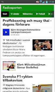 Sport Radiosporten bokmärke