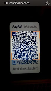 PayPal QRShopping - screenshot thumbnail