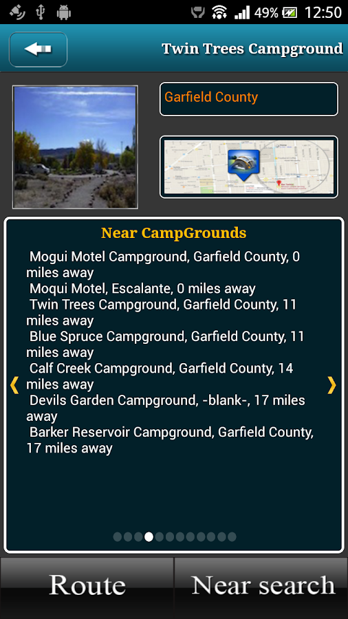 Utah Campgrounds- screenshot