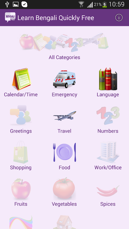 free english to bengali dictionary for android