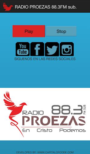 【免費音樂App】Radio Proezas-APP點子