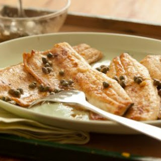 Lemon Trout Fillets with Capers