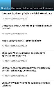 Computerworld CZ- screenshot thumbnail