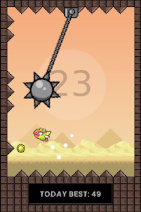 Flapping Cage: Avoid Spikes- screenshot thumbnail