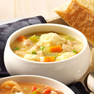 Grandma's Chicken 'n' Dumpling Soup.