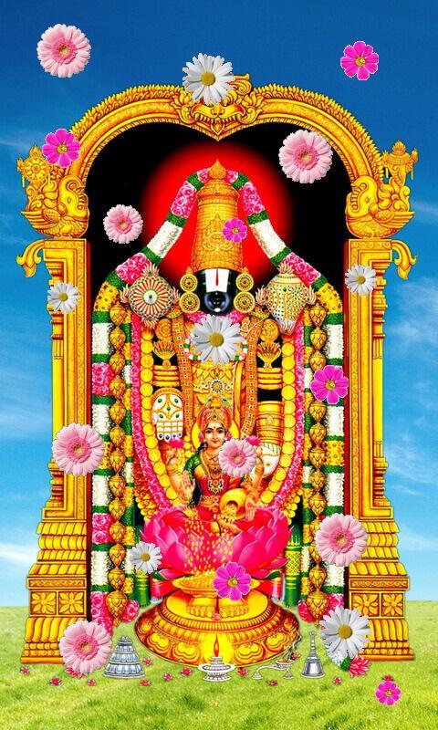 lord venkateswara live wallpaper