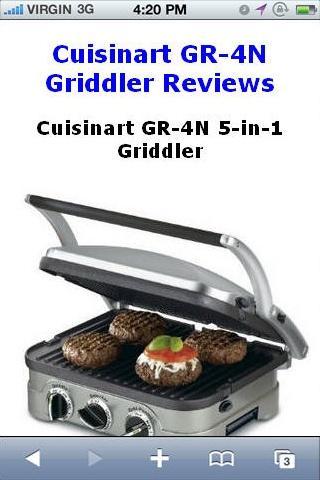 GR-4N 5-in-1 Griddler Reviews