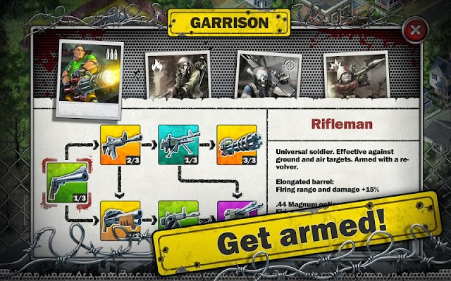 Zombies: Line of Defense - screenshot