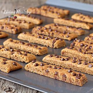 Chocolate Chip Cookie Sticks (gluten, grain, dairy free, paleo).