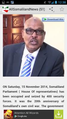 All Somaliland News - screenshot