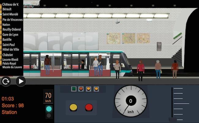 android Paris Métro Simulator Screenshot 9