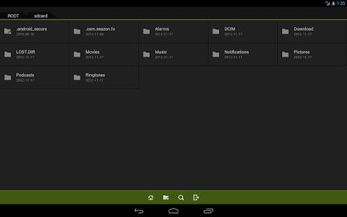 Fo File Manager - screenshot thumbnail