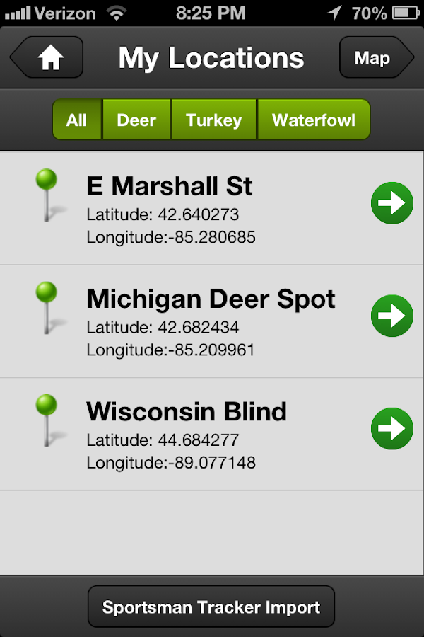 Hunt Predictor Hunting Times - screenshot