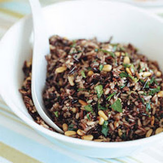 Wild Rice with Pine Nuts Recipe