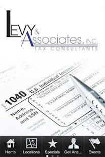 Levy & Associates - screenshot thumbnail