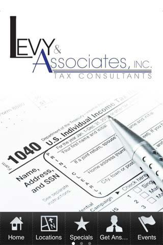 Levy & Associates - screenshot