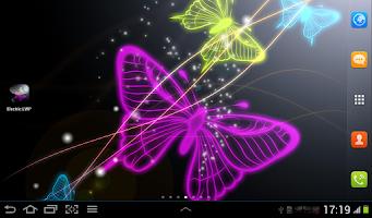 Screenshot of Electric Live Wallpaper