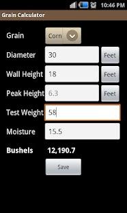 Grain Calculator - screenshot thumbnail